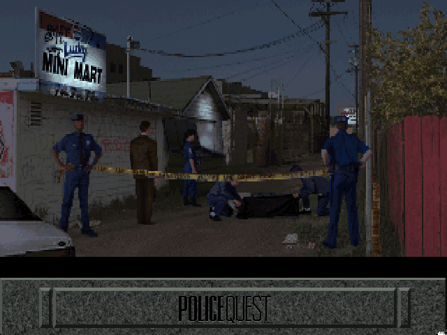 Police Quest 4 Screenshot Wallpaper 6