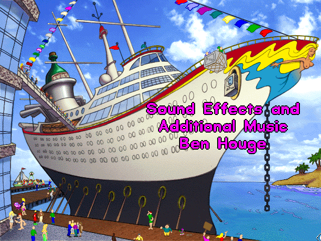 Sound Effects and Additional Music: Ben Houge.