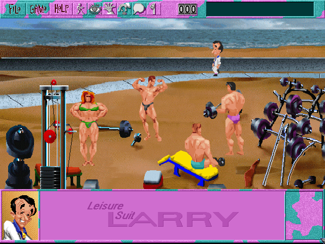 Leisure Suit Larry 6 CD Screenshot Wallpaper 22