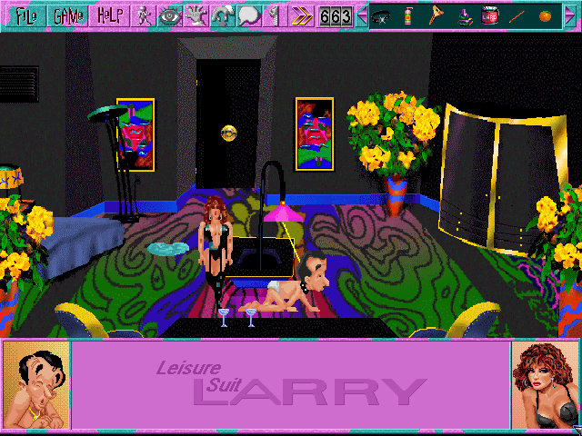 Leisure Suit Larry 6 CD Screenshot Wallpaper 104