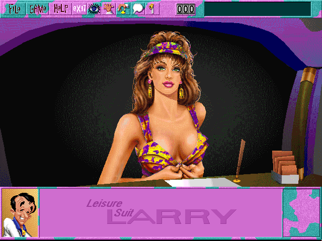 Leisure Suit Larry 6 CD Screenshot Wallpaper 105