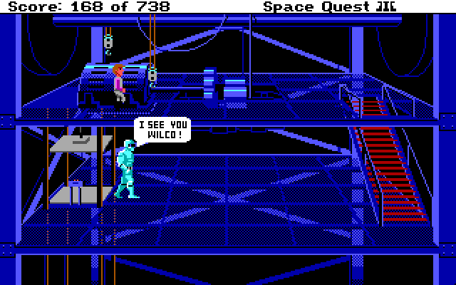 Space Quest 3 Screenshot Wallpaper 102