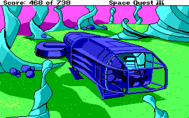 Space Quest 3 Screenshot Wallpaper 145