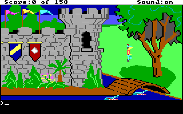 King's Quest 1 AGI Screenshot Wallpaper 2