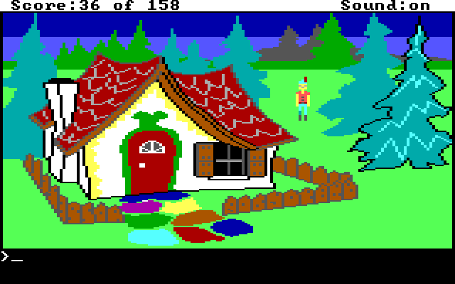 King's Quest 1 AGI Screenshot Wallpaper 25