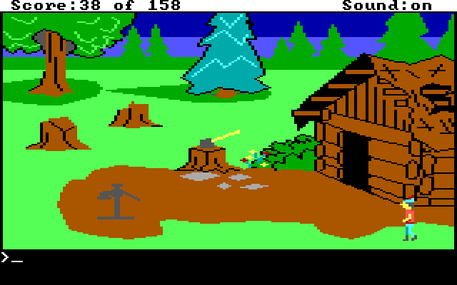 King's Quest 1 AGI Screenshot Wallpaper 28