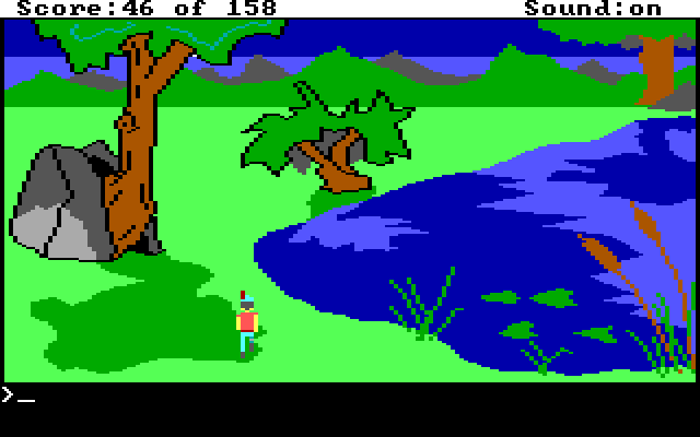 King's Quest 1 AGI Screenshot Wallpaper 31