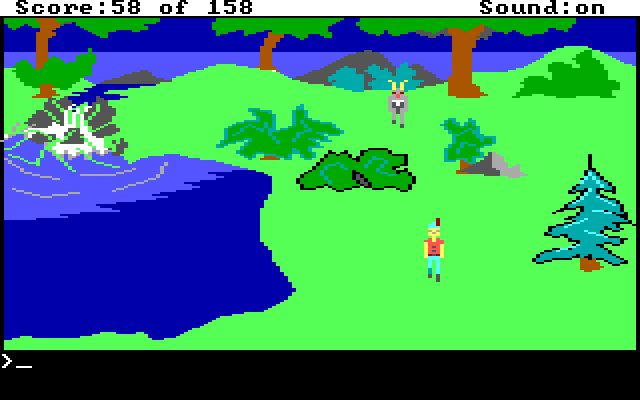 King's Quest 1 AGI Screenshot Wallpaper 36