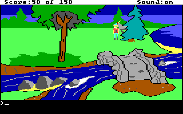 King's Quest 1 AGI Screenshot Wallpaper 39
