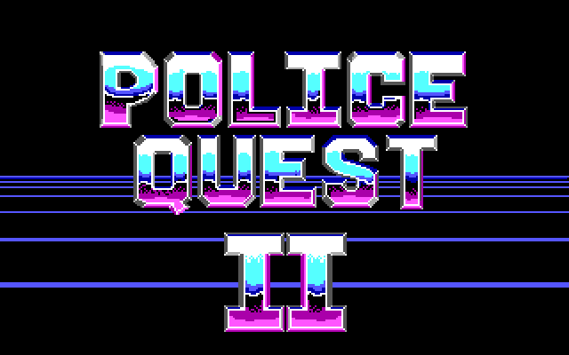 Police Quest 2 Screenshot Wallpaper 1