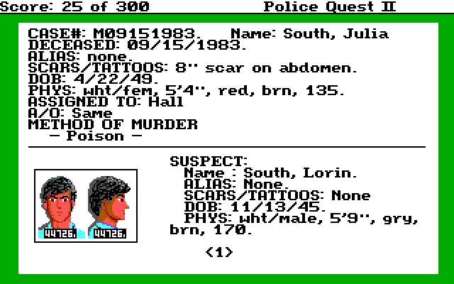 Police Quest 2 Screenshot Wallpaper 25