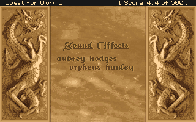 Sound Effects: Aubrey Hodges, Orpheus Hanley.