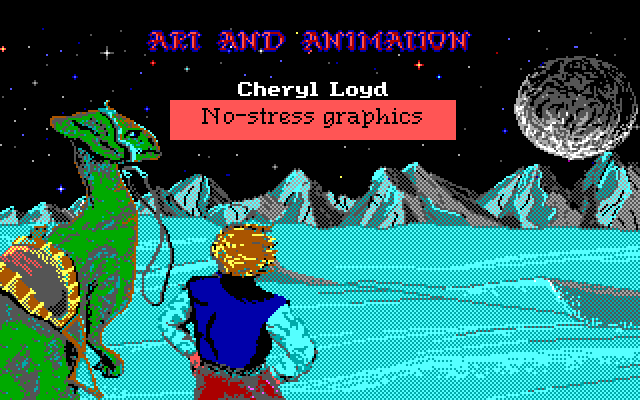 Art and Animation: Cheryl Loyd - No-stress graphics.