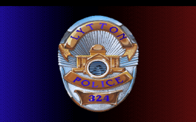 Lytton Police Badge 324.