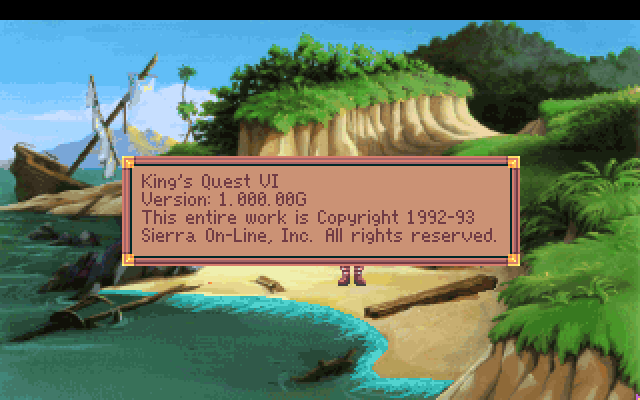 King S Quest Vi Heir Today Gone Tomorrow Sierra Screenshot Wallpapers Sierrawallpaper Com