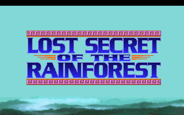 Lost Secret of the Rainforest.