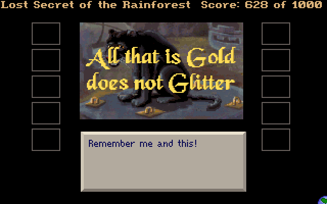 All that is Gold does not Glitter. Remember me and this!