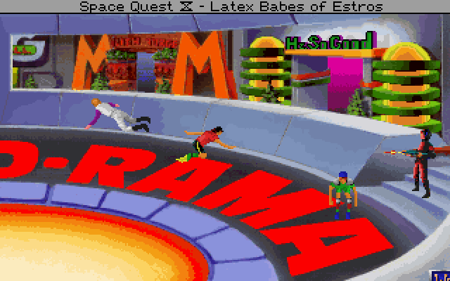 Space Quest 4 CD Screenshot Wallpaper 196