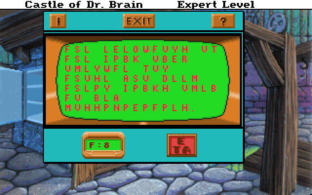 Castle of Dr. Brain Screenshot Wallpaper 63