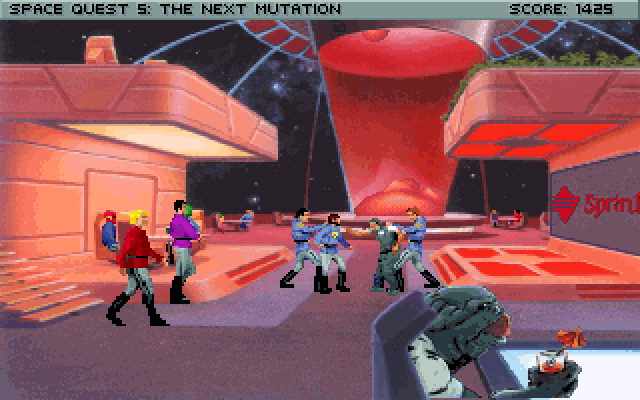 Space Quest 5 Screenshot Wallpaper 148