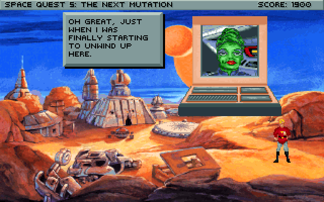 Space Quest 5 Screenshot Wallpaper 171
