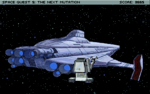Space Quest 5 Screenshot Wallpaper 233