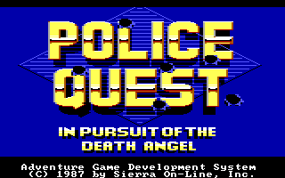 Police Quest 1 Screenshot Wallpaper 4