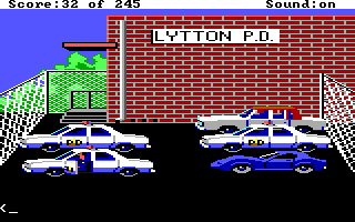 Police Quest 1 Screenshot Wallpaper 29