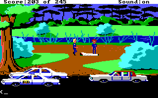 Police Quest 1 Screenshot Wallpaper 93