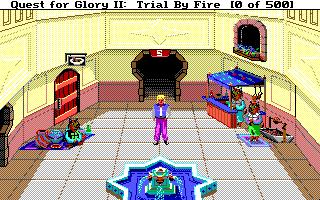 Quest for Glory II: Trial by Fire Sierra Screenshot