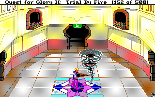 Quest for Glory II: Trial by Fire Sierra Screenshot