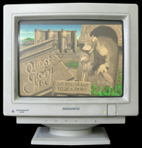 Click to view screenshot wallpapers of Quest for Glory 1 VGA