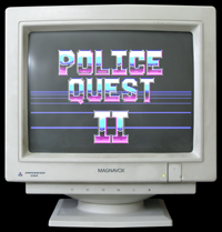 Click to view screenshot wallpapers of Police Quest 2
