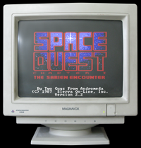 Click to view screenshot wallpapers of Space Quest 1