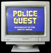 Click to view screenshot wallpapers of Police Quest 1