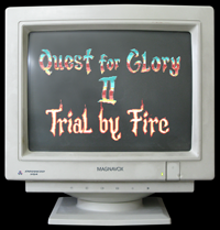 Click to view screenshot wallpapers of Quest for Glory 2