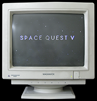Click to view screenshot wallpapers of Space Quest 5
