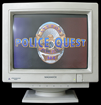 Click to view screenshot wallpapers of Police Quest 1 VGA